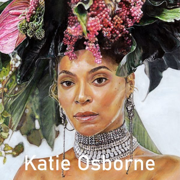 A look at Katie Osborne's Beyonce portrait for the Window Gallery Art Gallery 2020 Calendar