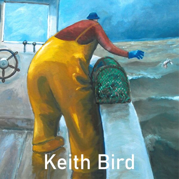 A look at Keith Birds Fisherman piece for the Window Gallery Art Gallery 2020 Calendar