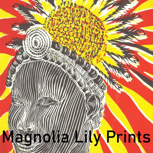 A look at Magnolia Lily Prints' piece for the Window Gallery Art Gallery 2020 Calendar