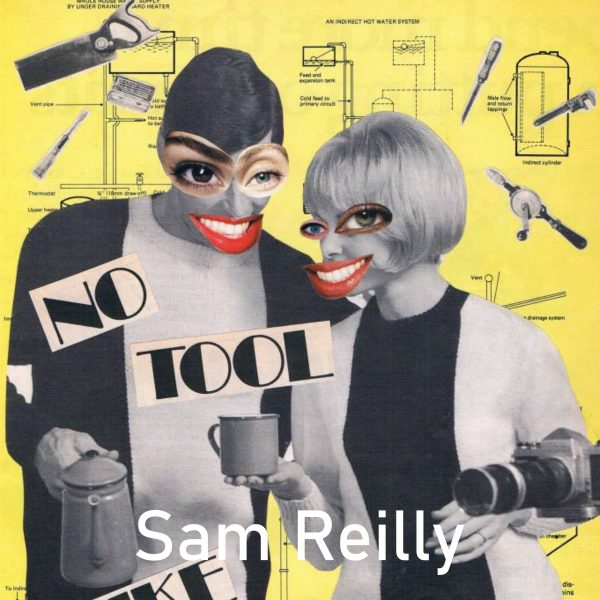 A look at Sam Reilly's cool collage for the Window Gallery Art Gallery 2020 Calendar