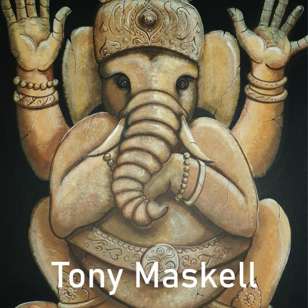 A look at Tony Maskell's Ganesh piece for the Window Gallery Art Gallery 2020 Calendar
