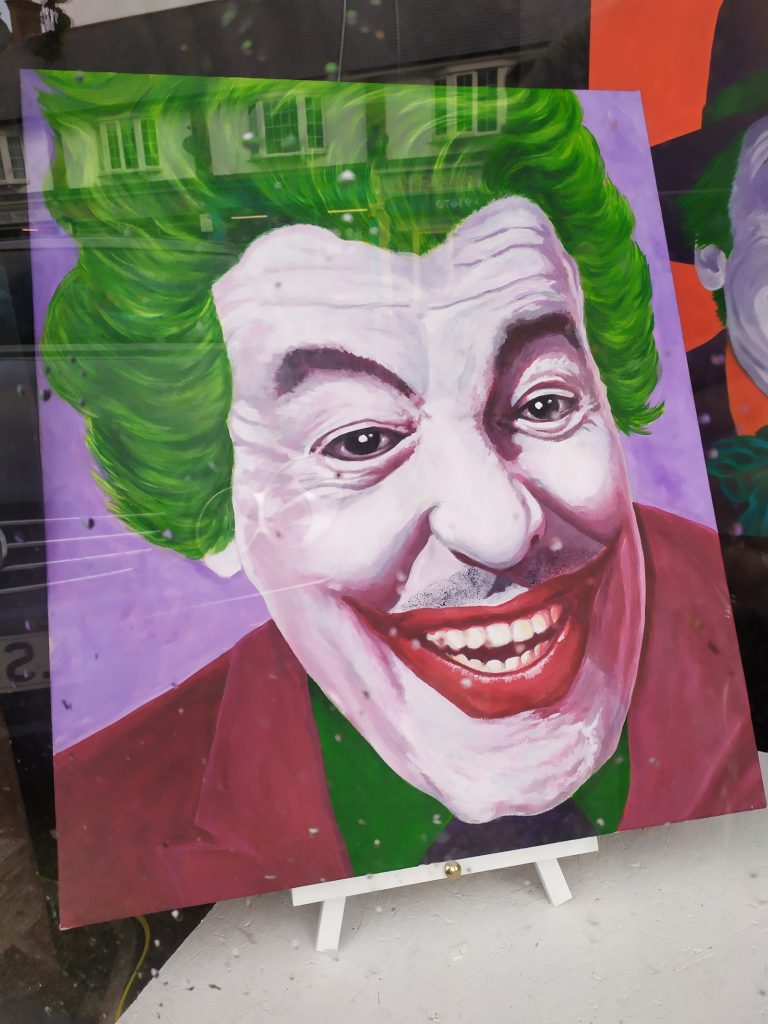 Cesar Romero Joker by Keith Hollingsworth
