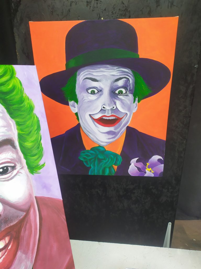 Jack Nicholson Joker by Keith Hollingsworth