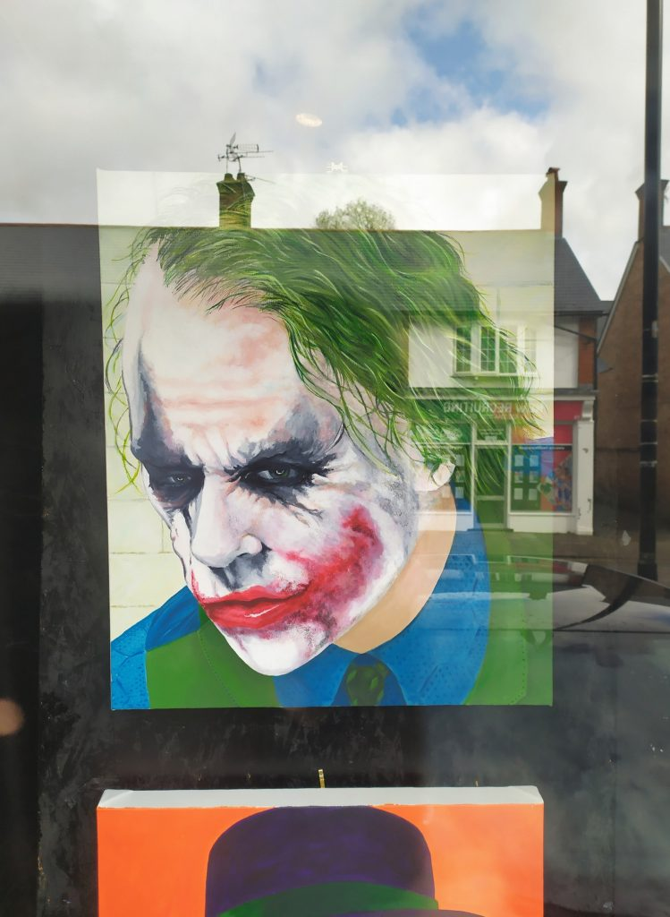 Heath Ledger Joker by Keith Hollingsworth