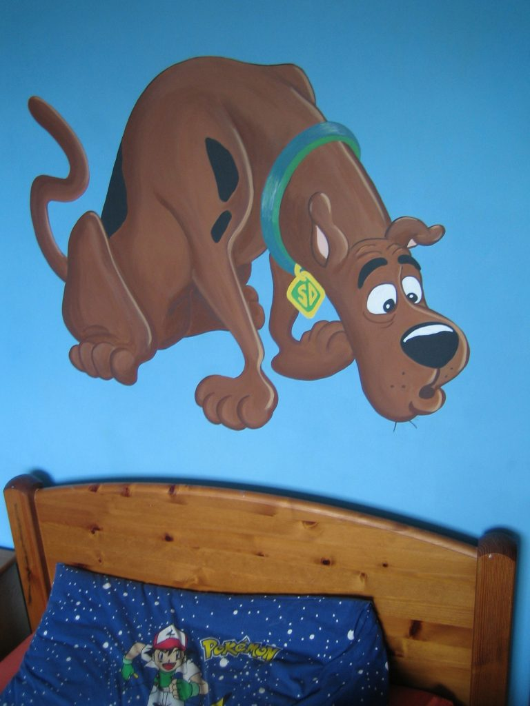 Scooby Doo Mural by Keith Hollingsworth
