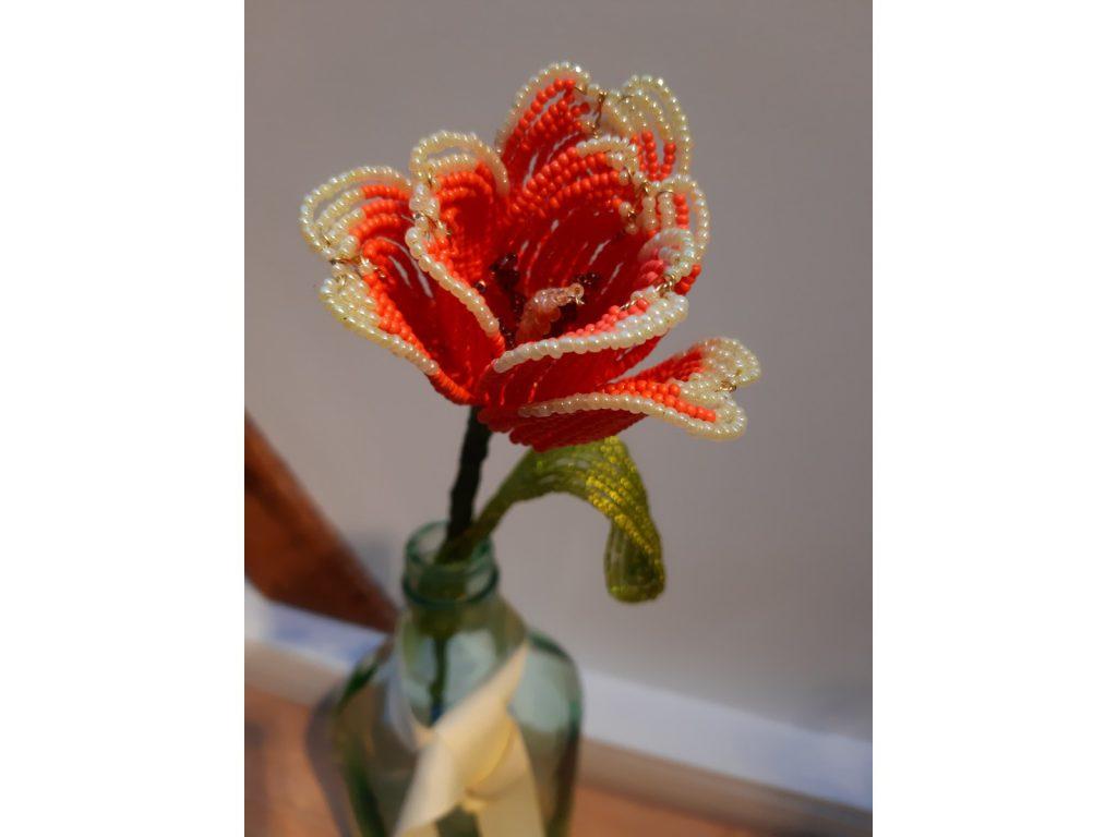 Single Beaded Flower
