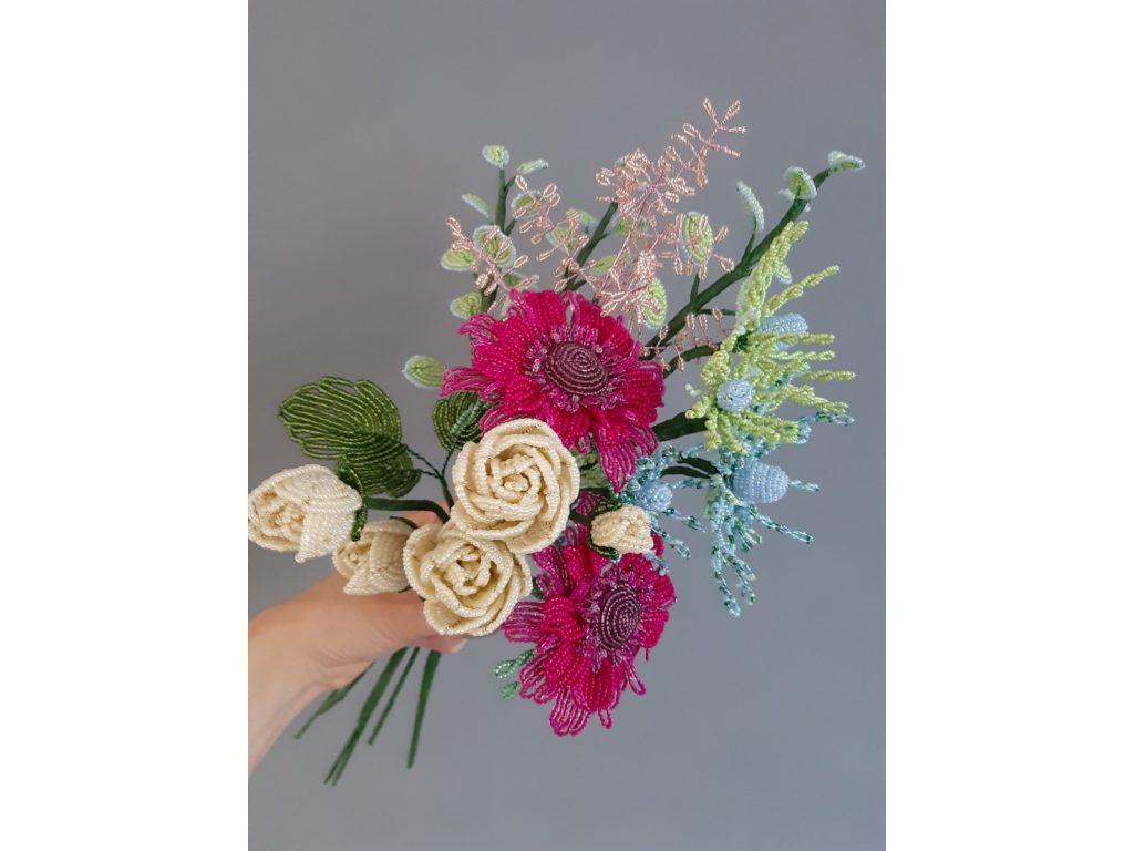 Beaded Flower Bunch