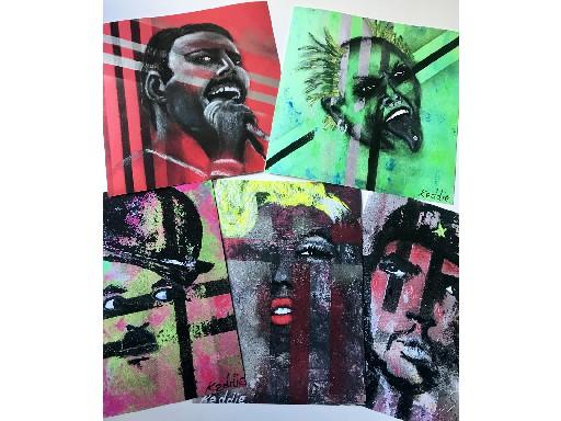 Abstract Icons - Delia Keddie