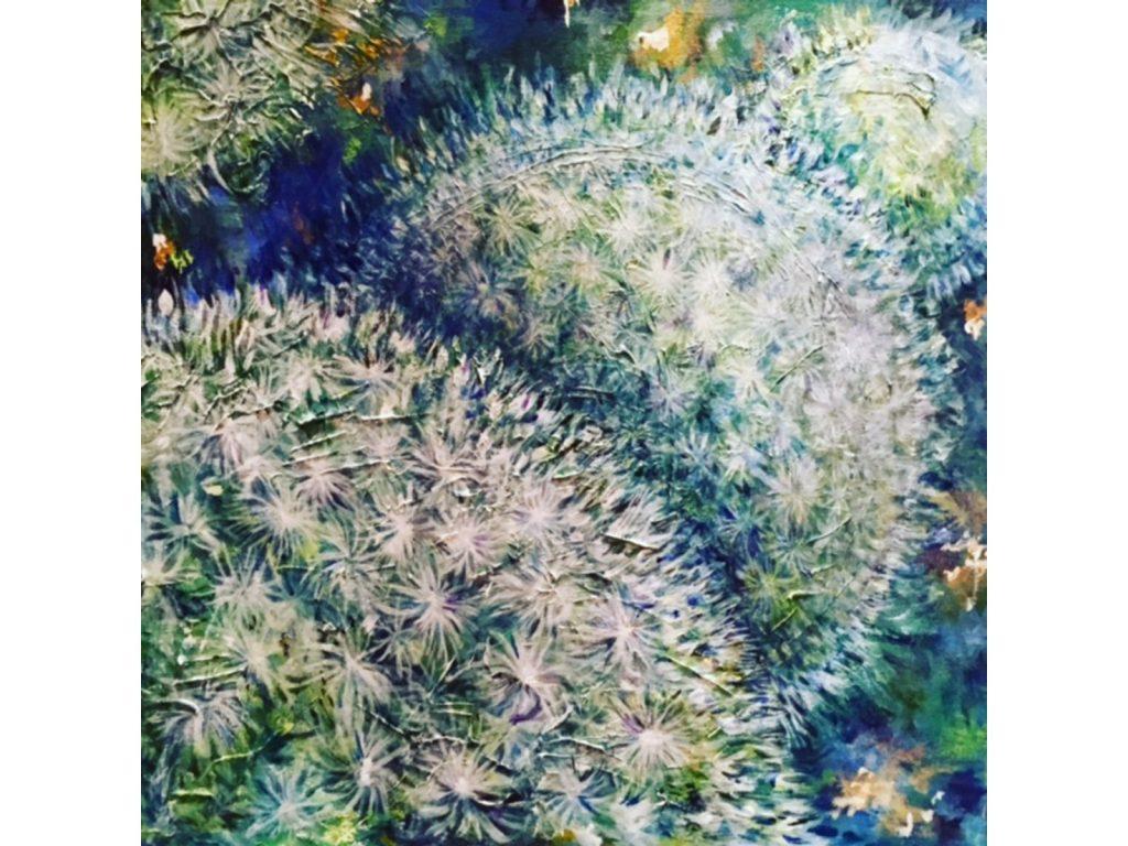 Blue Fluff by Nicola Osborne