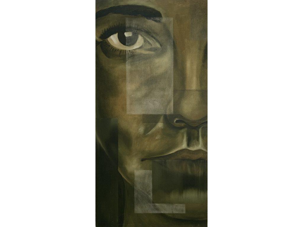 Fragmented Portrait by Helen Fulford