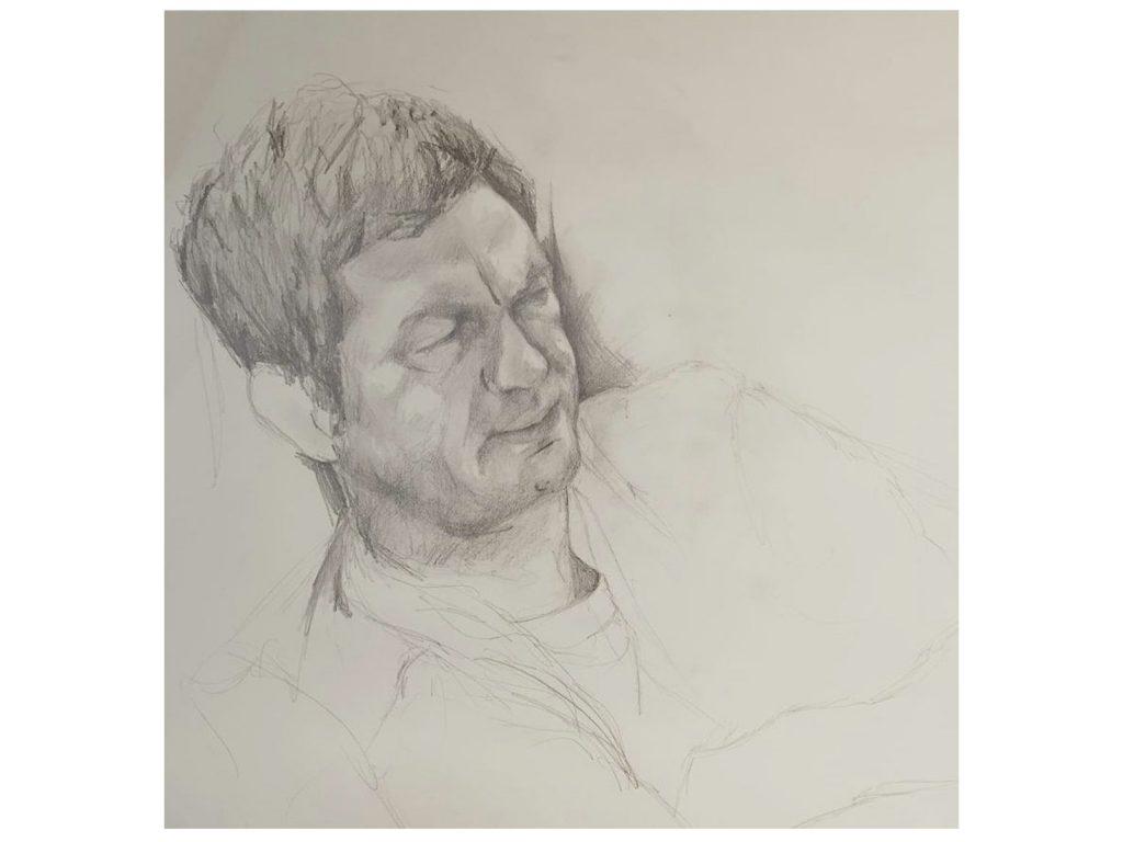 Portrait by Helen Fulford