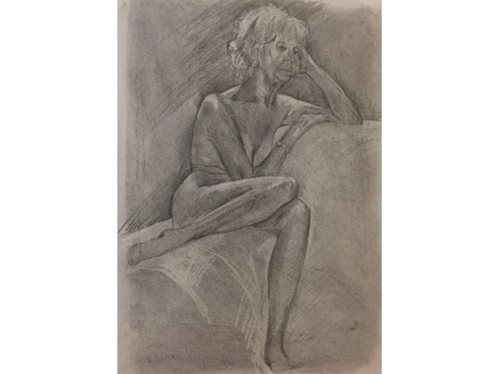 Life Drawing by Helen Fulford